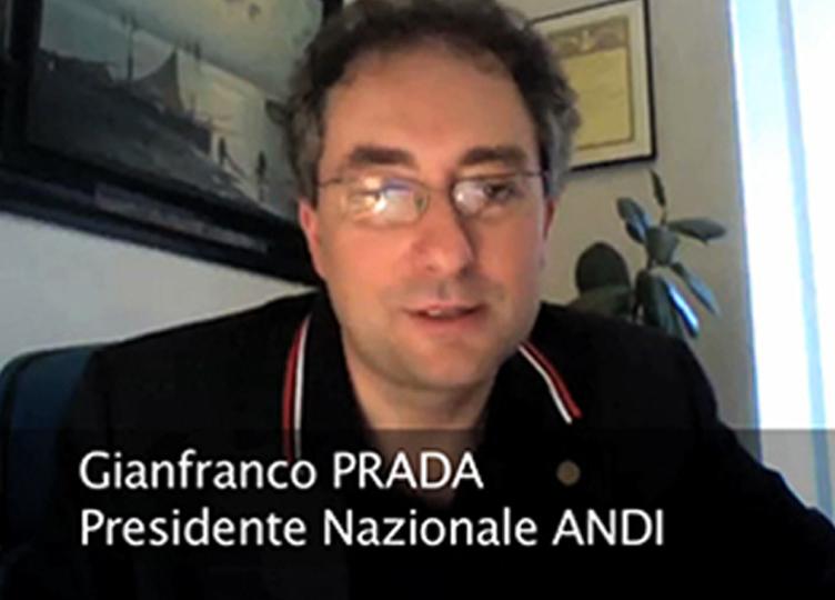 Il Presidente Nazionale ANDI Gianfranco Prada presenta la VI Edizione dell'Oral Cancer DAY