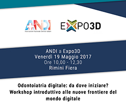 Odontoiatria digitale: da dove iniziare? In Expodental un Workshop ANDI sul tema
