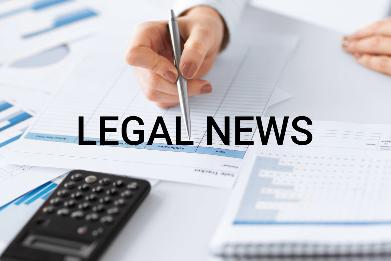Legal news - 21 Maggio