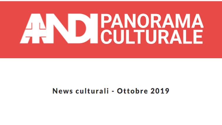 News culturali – Ottobre 2019