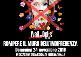 ROMPERE IL MURO DELL'INDIFFERENZA CON LA FONDAZIONE ANDI ONLUS E THE WALL OF DOLLS
