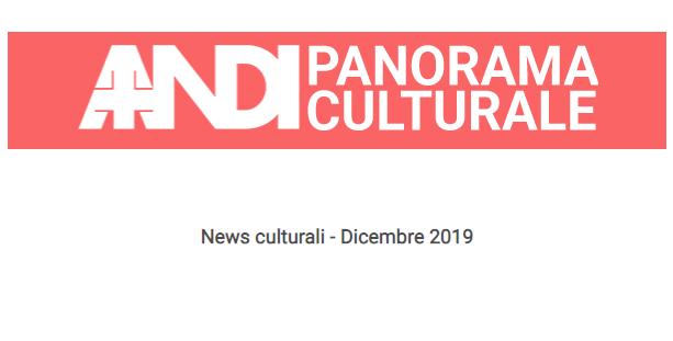 News culturali – Dicembre 2019