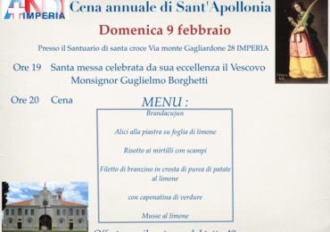 ANDI Imperia - Cena annuale di Santa Apollonia