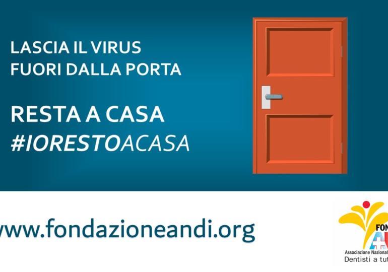 Emergenza Coronavirus: Fondazione ANDI non si ferma