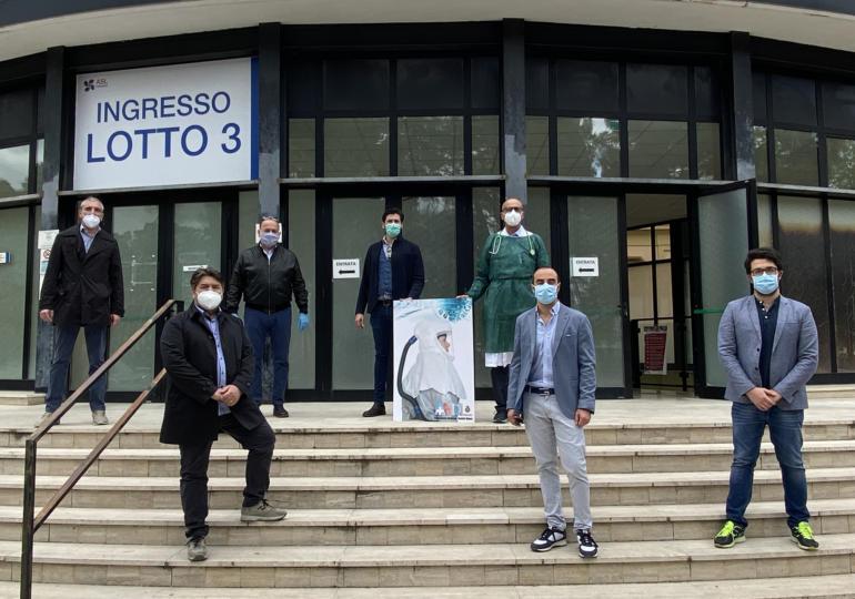 I dentisti della provincia di Teramo donano respiratori elettroventilati all'ospedale Mazzini