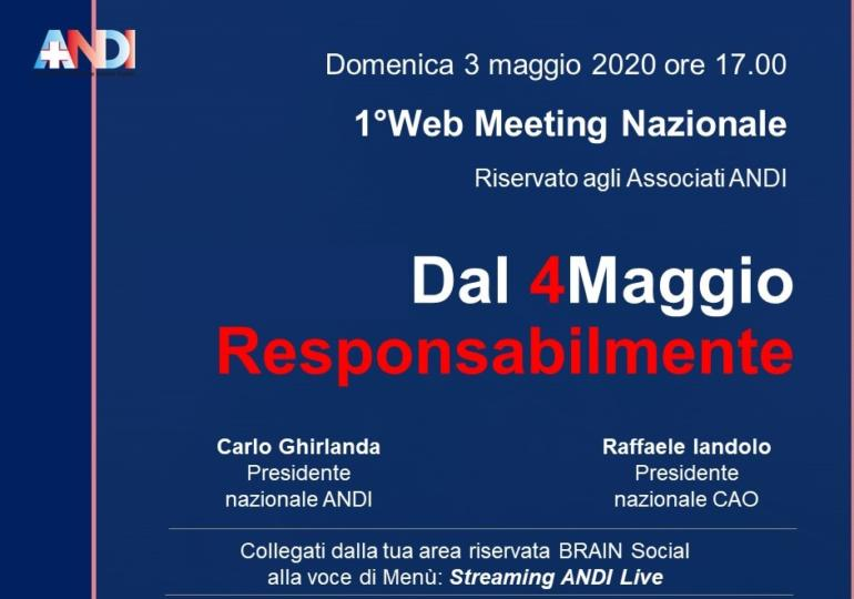 1° Web Meeting Nazionale ANDI