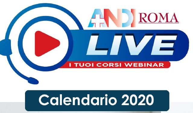 AND ROMA LIVE: i tuoi corsi webinar 2020