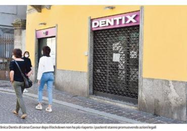 Dentix chiusa, 70 pazienti fanno ricorso «Adesso stop alle rate dei finanziamenti»