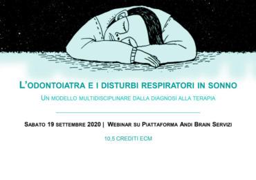 Convegno online OSAS - L'odontoiatra e i disturbi respiratori in sonno