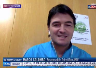 TGCOM24 Mediaset: intervista a Marco Colombo, Responsabile scientifico ANDI sul 40°Mese della Prevenzione Dentale